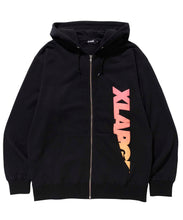 Load image into Gallery viewer, FOAM PRINT STANDARD LOGO FULLZIPPED SWEAT FLEECE, CREWNECK, HOODIE XLARGE
