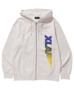 FOAM PRINT STANDARD LOGO FULLZIPPED SWEAT FLEECE, CREWNECK, HOODIE XLARGE