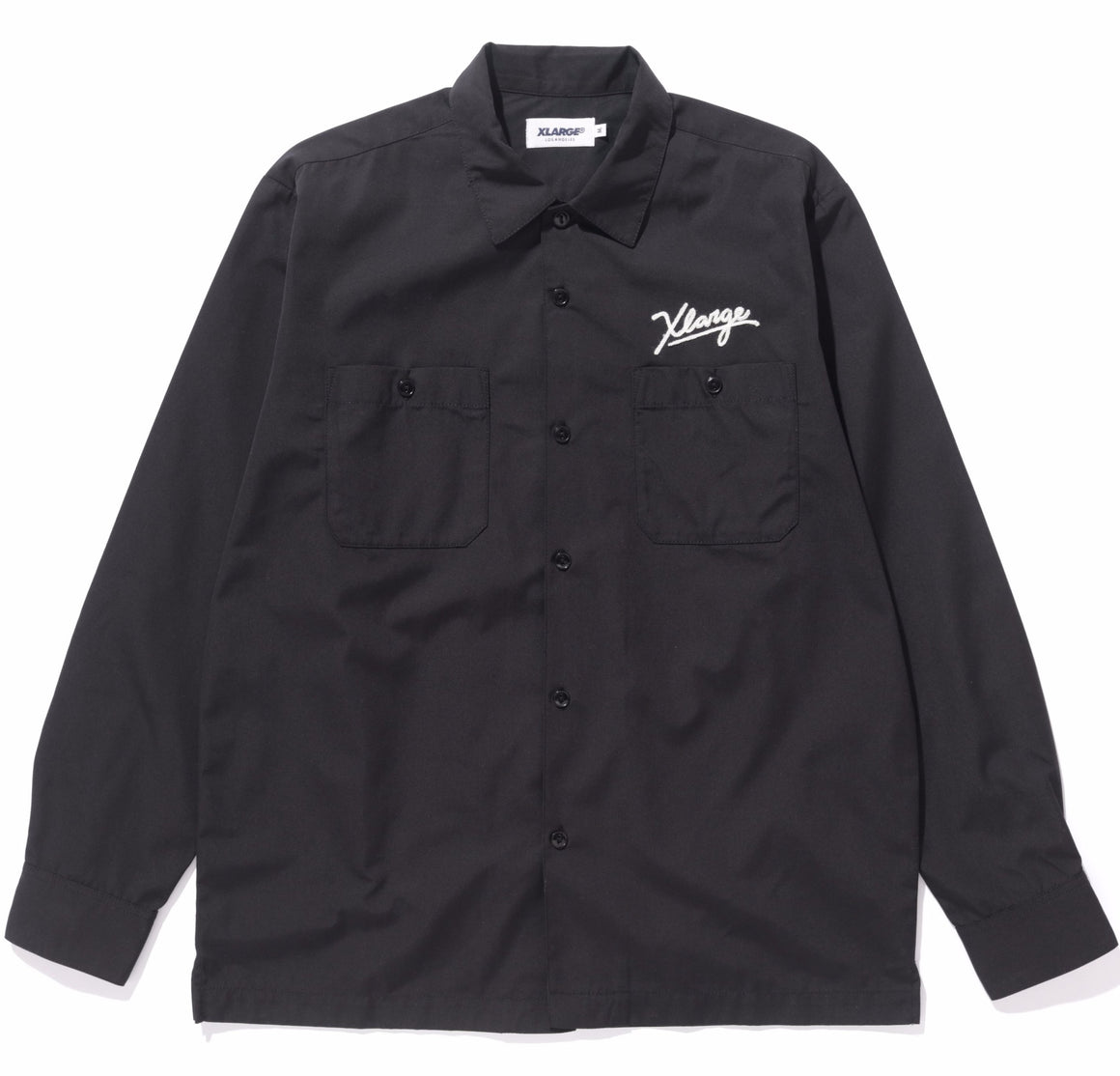 EMBROIDERY LOGO LS WORKSHIRT - X-Large Clothing