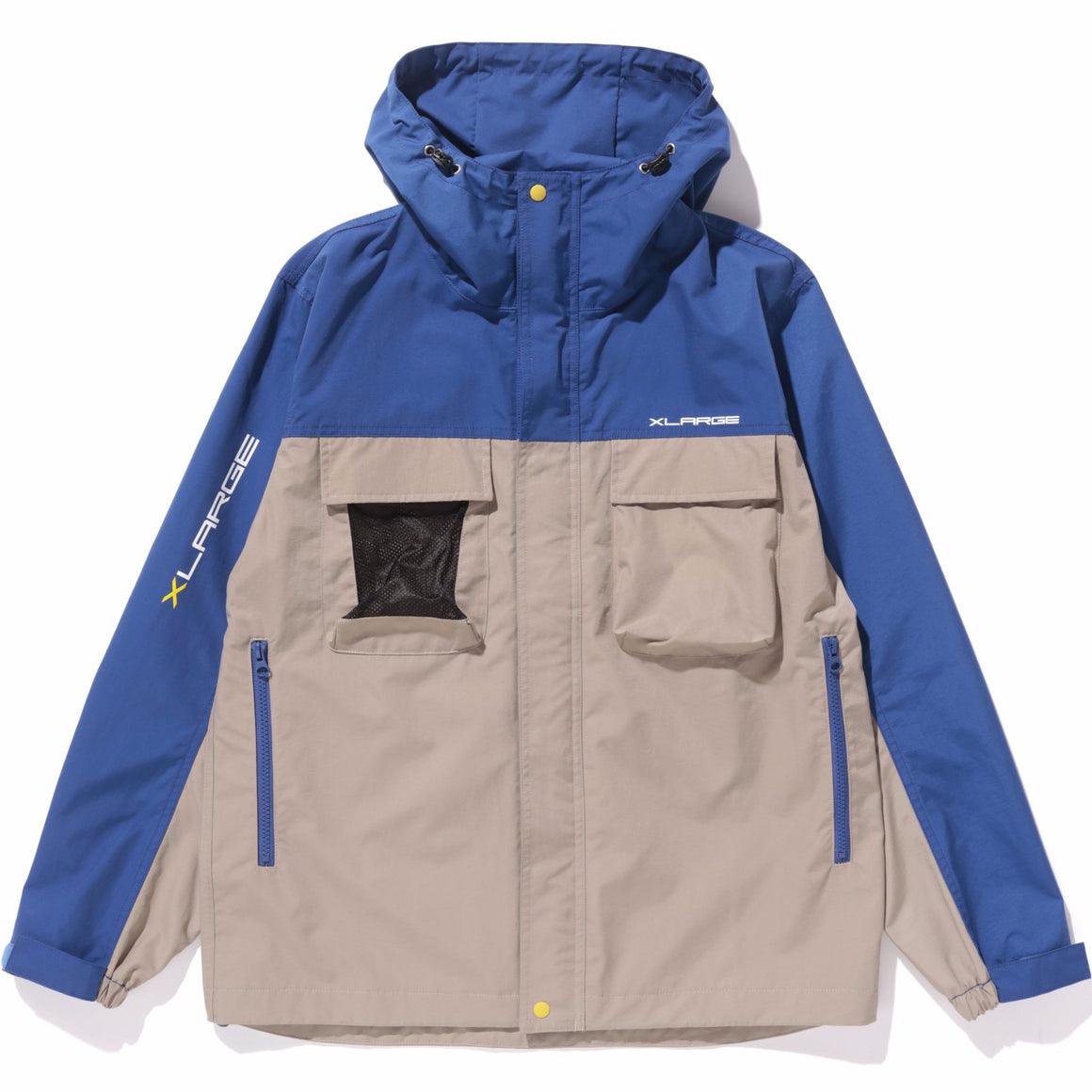 HOODED NYLON JACKET - X-Large Clothing