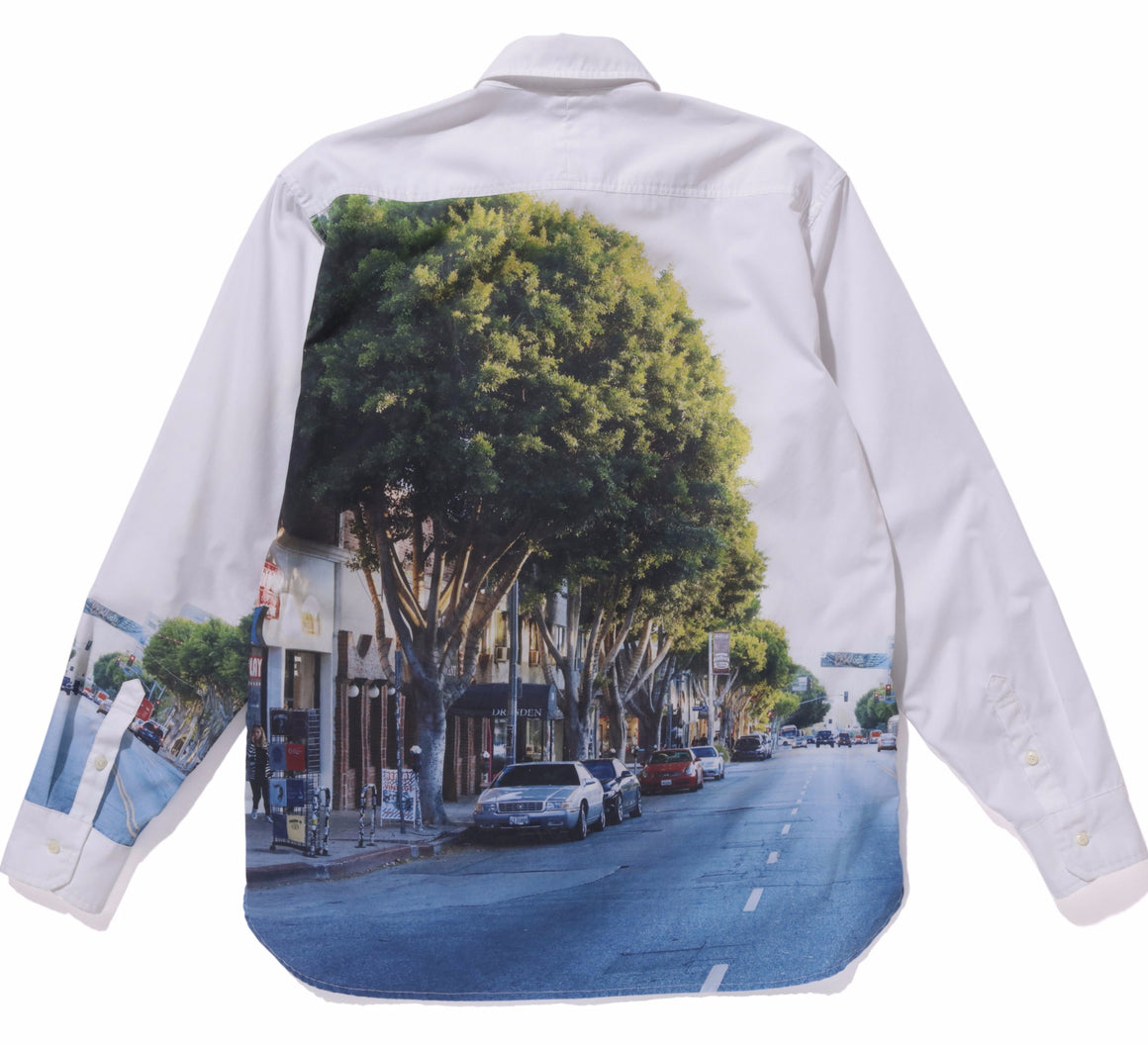 PRINTED LS SHIRT - X-Large Clothing
