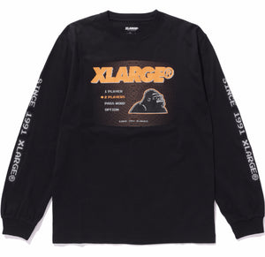 8 BIT LS TEE - X-Large Clothing