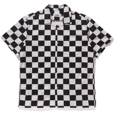CHECKERED S/S BUTTON UP SHIRT XLARGE