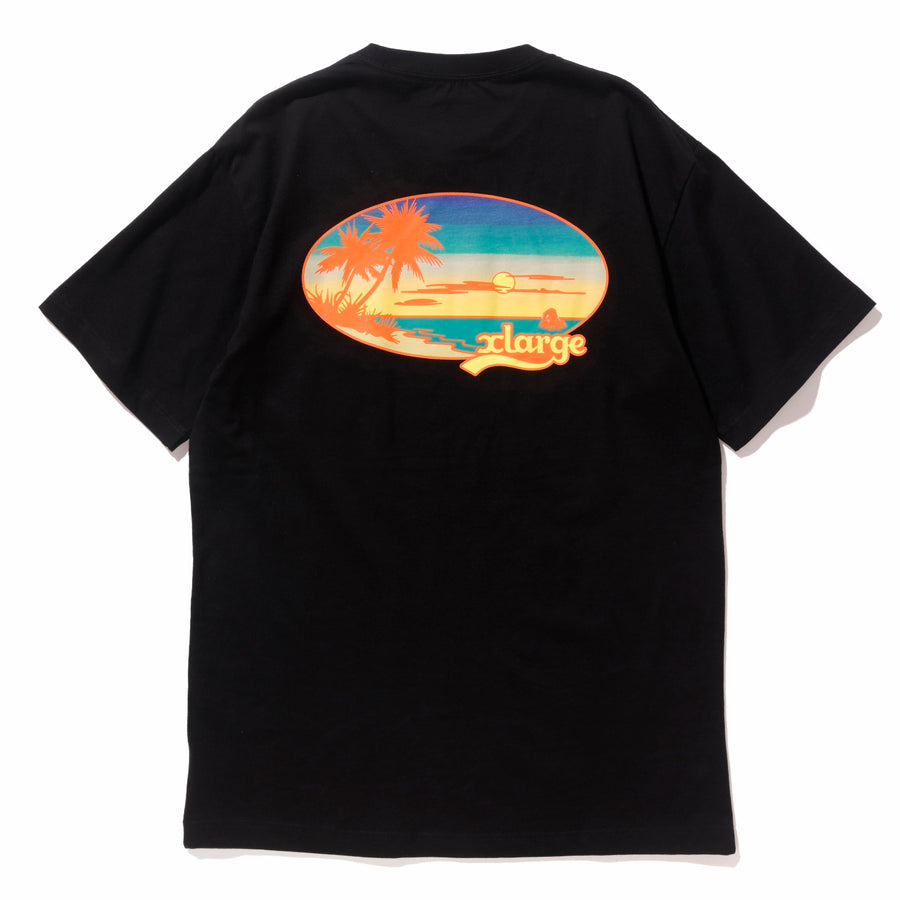SUNSET S/S TEE T-SHIRT XLARGE