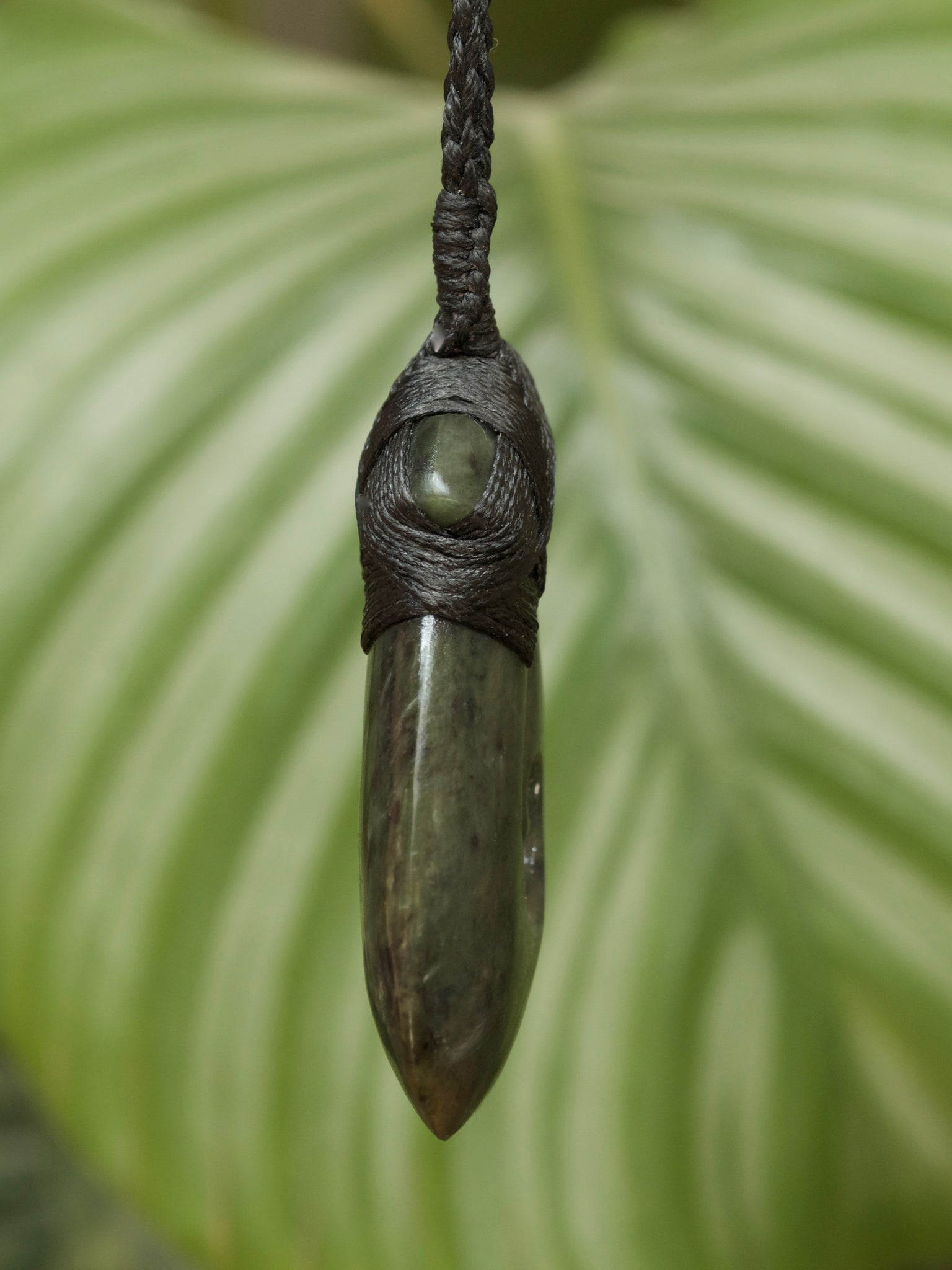 Hei Matau Medium Kawakawa Pounamu New Zealand Greenstone Pendant