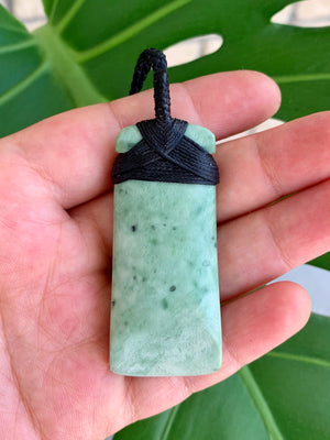 Hei Toki Blade Medium Kokopu Pounamu New Zealand Greenstone Pendant