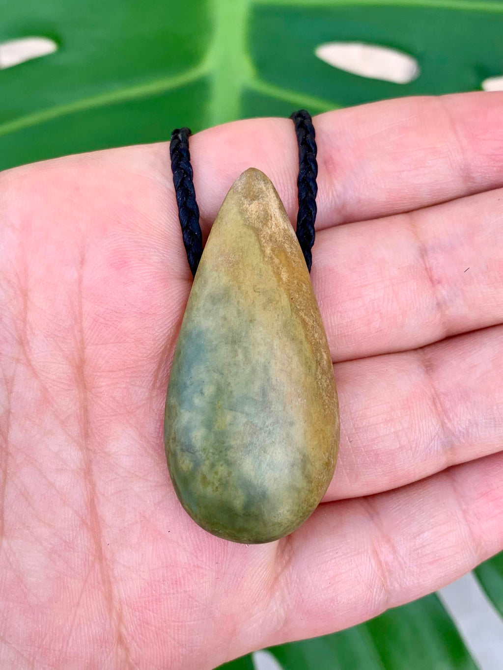 Small Roimata New Zealand Marsden Stone Pendant