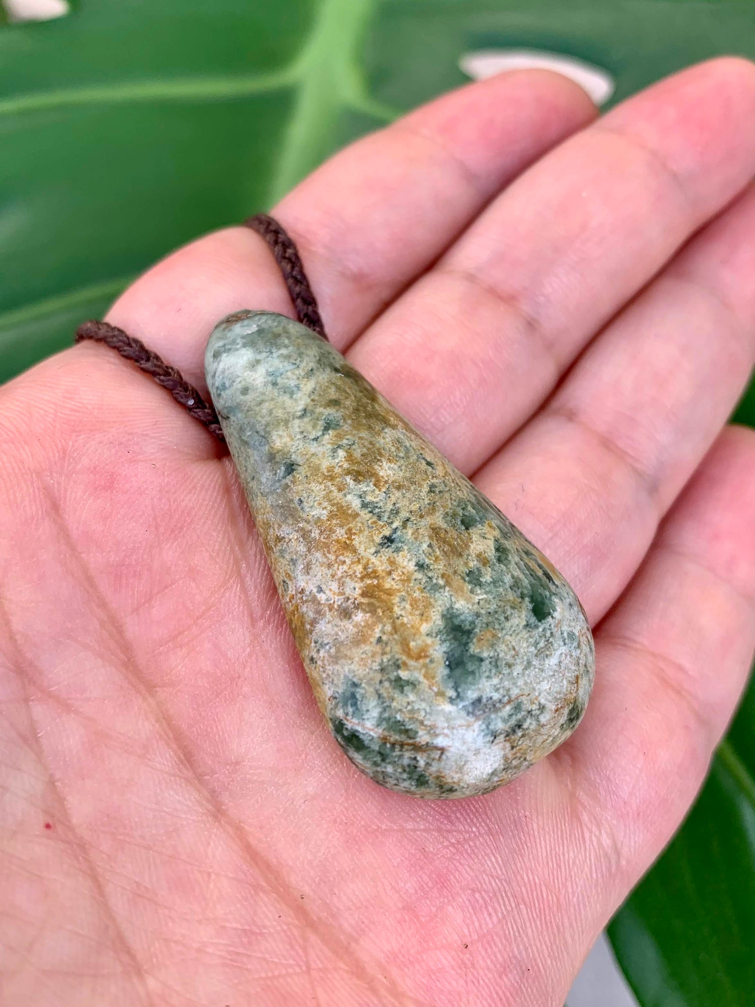 Medium Roimata New Zealand Marsden Stone Pendant