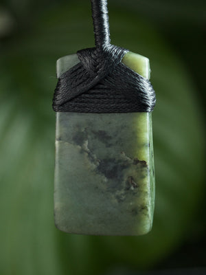 Hei Toki Blade Small Kawakawa Pounamu New Zealand Greenstone Pendant