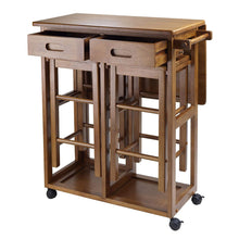 Load image into Gallery viewer, 3-Piece Kitchen Island Set Winsome Wood Suzanne - Kitchen Furniture Company