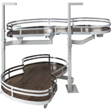"Load image into Gallery viewer, 15"" Blind Corner Swing Out Left Handed Unit BCSO215PCWD-LH - Kitchen Island Company"