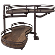 "Load image into Gallery viewer, 18"" Blind Corner Swing Out Left Handed Unit BCSO218BOWD-LH - Kitchen Island Company"