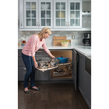 "Load image into Gallery viewer, 18"" Blind Corner Swing Out Left Handed Unit BCSO218PCWD-LH - Kitchen Island Company"