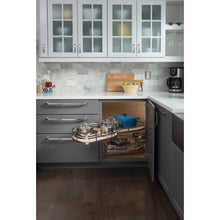 "Load image into Gallery viewer, 21"" Blind Corner Swing Out, Left Handed Unit BCSO221PCWH-LH - Kitchen Island Company"