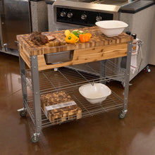 Load image into Gallery viewer, Stadium Indoor Outdoor Kitchen Work Station by Chris and Chris JET7747 - Kitchen Furniture Company