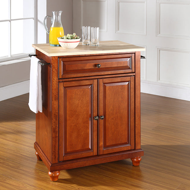 Cuisine Kitchen Island w/ Raised Panel Doors In Multiple Finishes - Kitchen Island Company