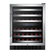 Load image into Gallery viewer, 46-Bottle Dual Zone Convertible Wine Cellar