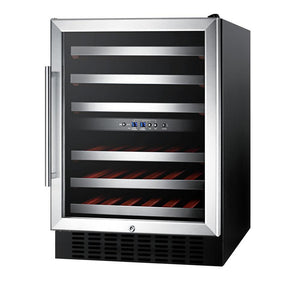46-Bottle Dual Zone Convertible Wine Cellar