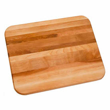 Load image into Gallery viewer, 19 In. W Reversible  Flat Grain Butcher Block Cutting Board Juice Groove - Kitchen Furniture Company
