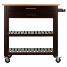 Load image into Gallery viewer, Mobile Kitchen Cart Island w/Leaf Extension WS-40826 - Kitchen Furniture Company