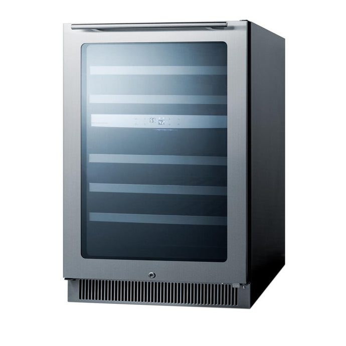 24 in. 46-Bottle Dual Zone Built-In Wine Cooler CL24WC2