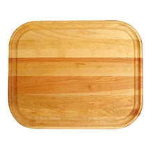 Load image into Gallery viewer, Wooden Reversible Cutting Board w/ Juice Groove - Kitchen Furniture Company