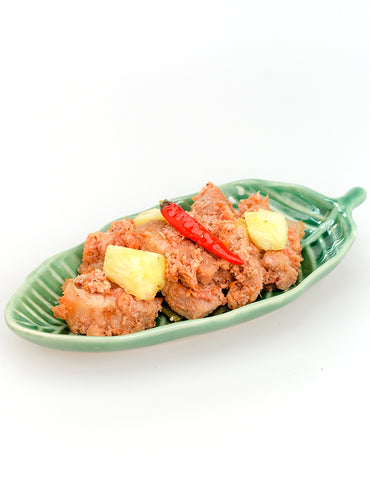 que rica bicol express with pineapples