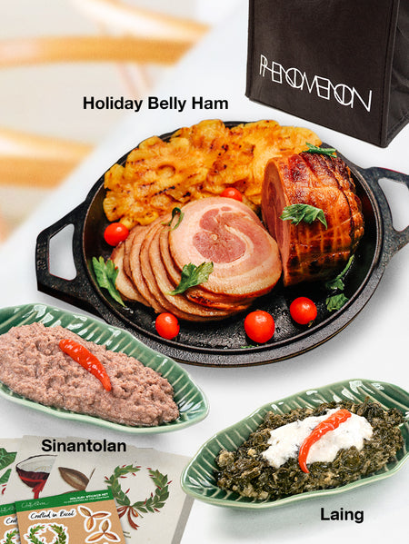 Holiday Dinner Set with Pork Belly Ham