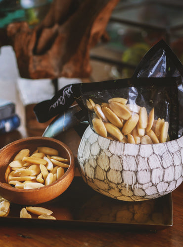 Pili Sampler Pack in Coconut Bowl with Lid (pack of 3) *PREORDER*