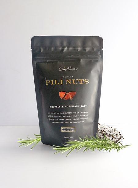 Pili Nuts with Truffle & Rosemary Salt 50g