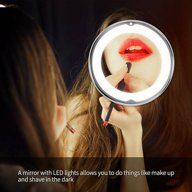 Magnifying Makeup Vanity Cosmetic Round Bathroom Mirror