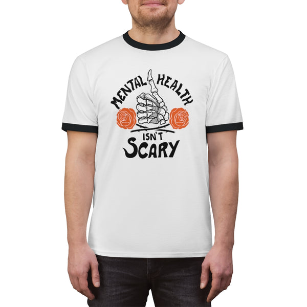 Mental Health Isn't Scary Ringer Tee