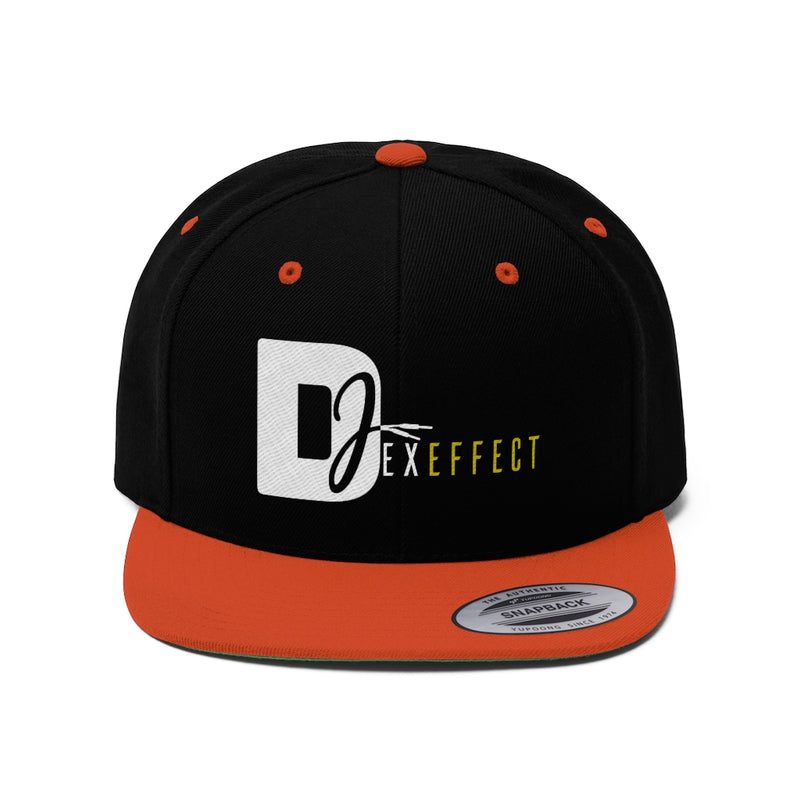 DJ Dex Effect Flat Bill Hat