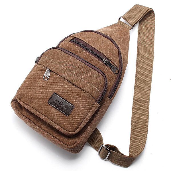 SlingBago™ Canvas Urban/Outdoor/Travel Shoulder Sling Bag for Men & Women