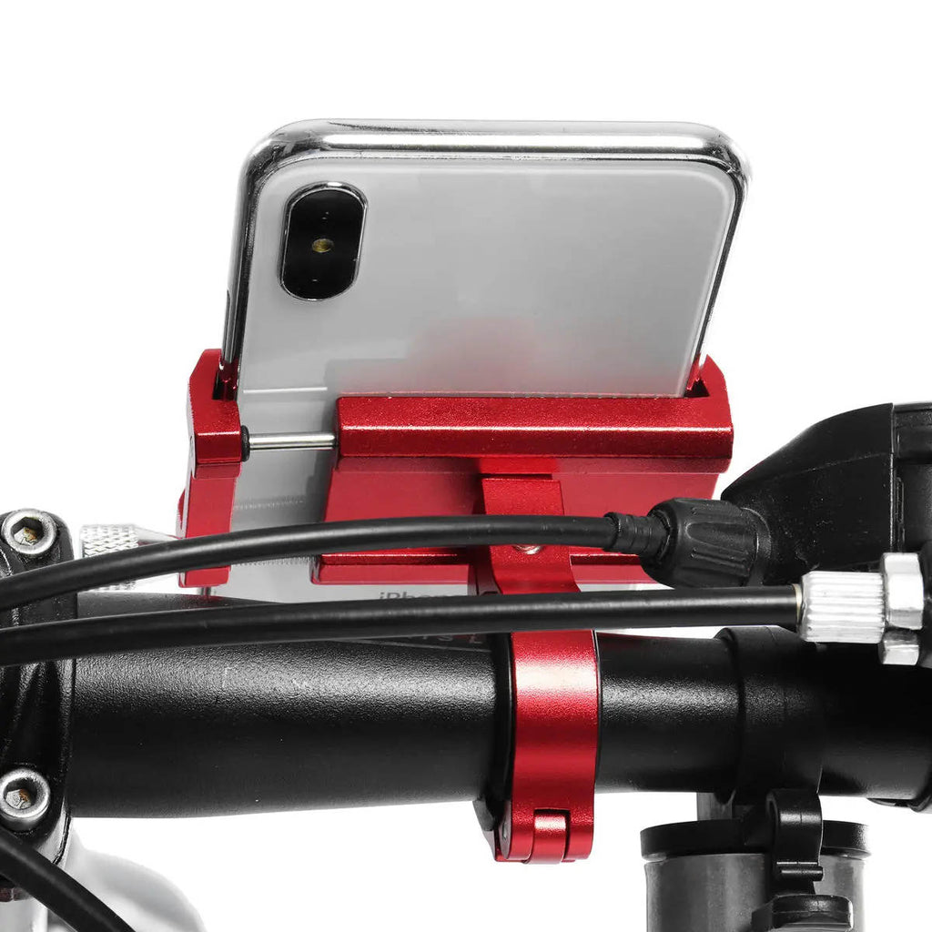 Bike Phone Mount Handlebar View