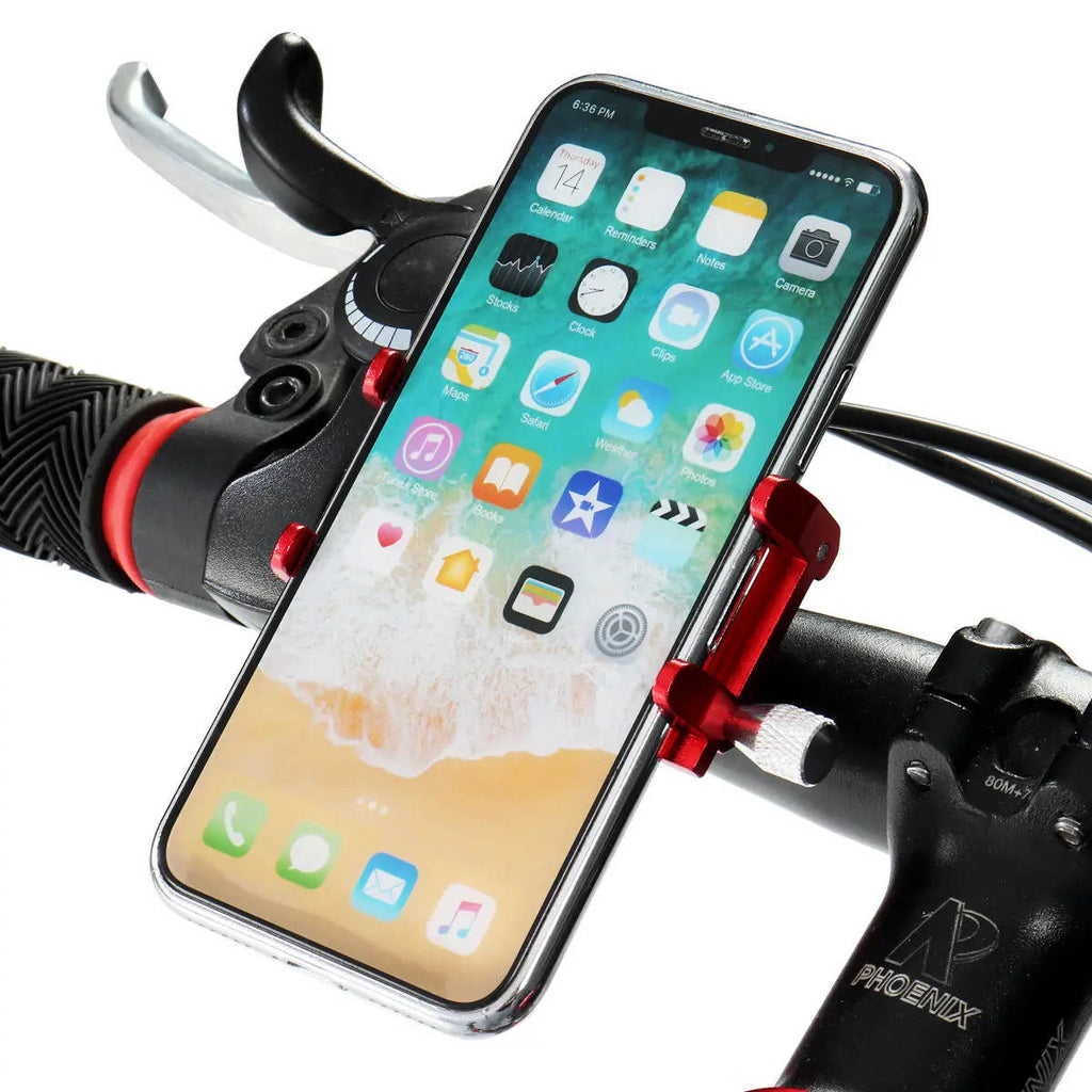 Bike Phone Mount Front View