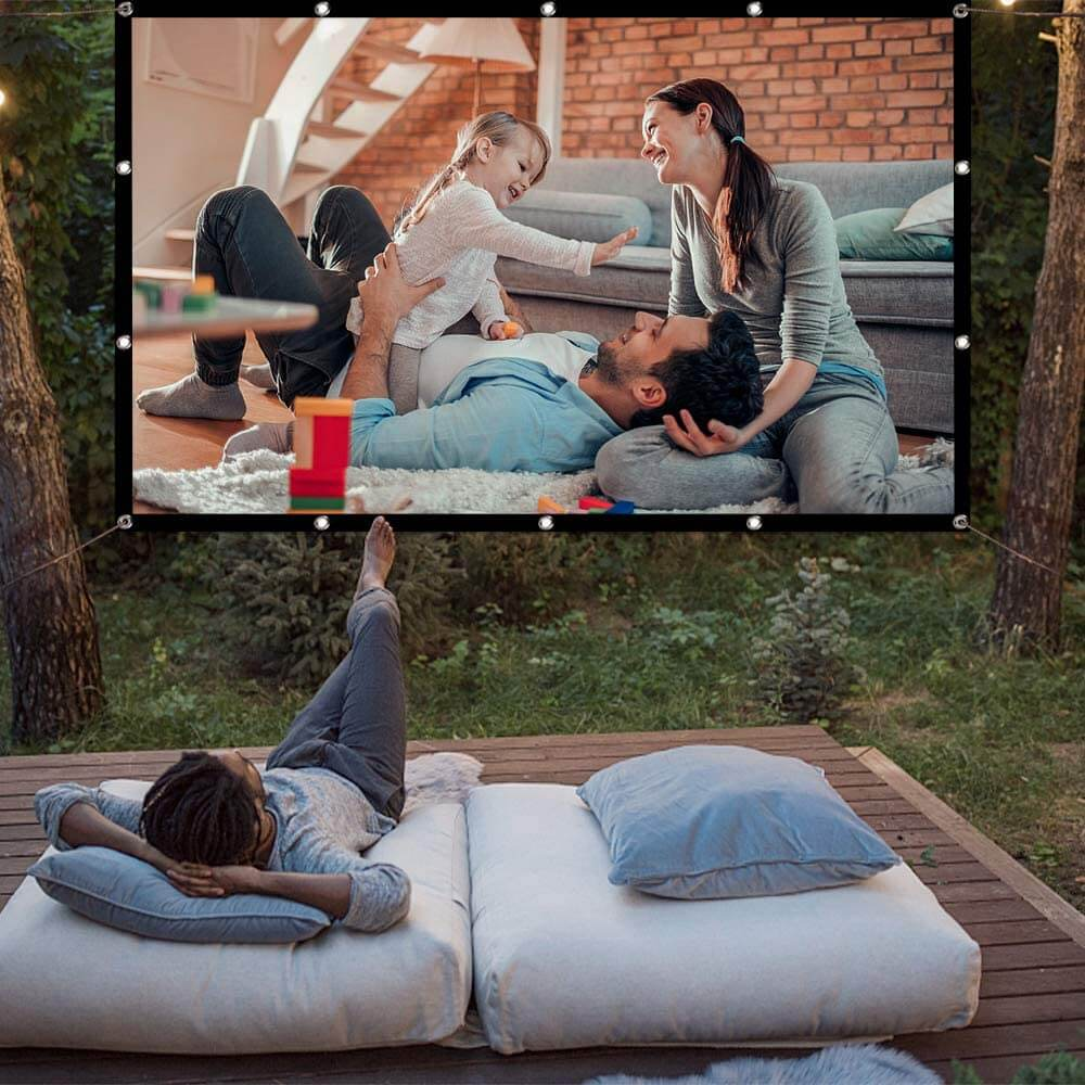 Portable Outdoor Movie Screen