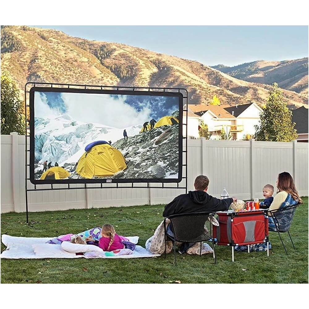 Movie Screen Outdoor