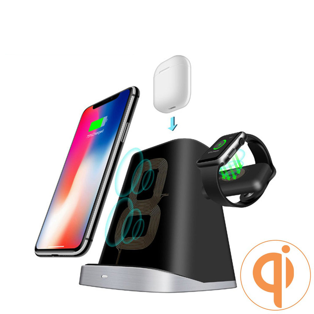 3-in-1 Wireless Charger Station