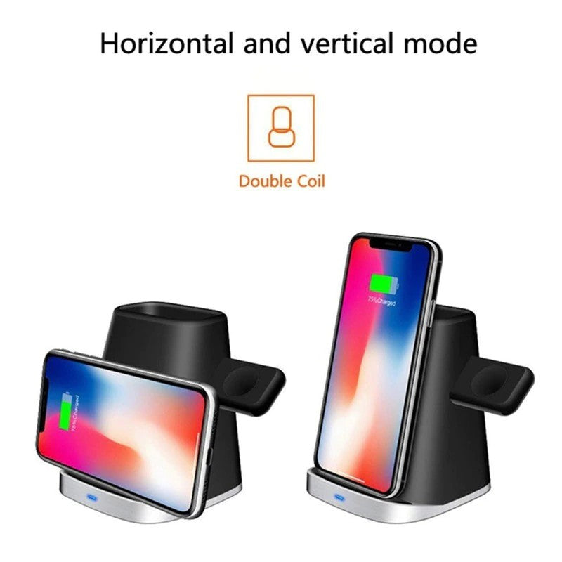 Wireless Charger Dual Coil