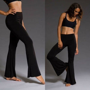 Bell Bottom Casual High Waist Pant