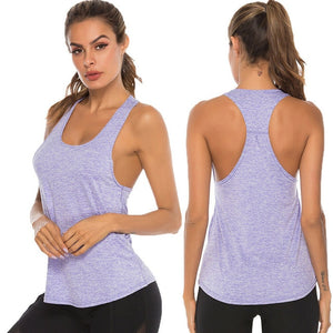 Women's Sleeveless, Yoga, Workout Tank Top