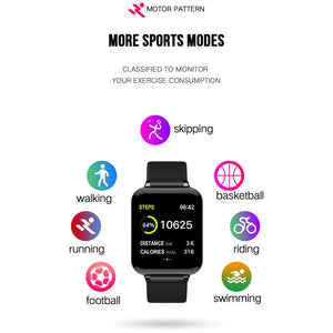 Smart watch For men & women,Heart Rate Monitor, Multiple Sport Mode Touch Screen Activity Tracking Pedometer