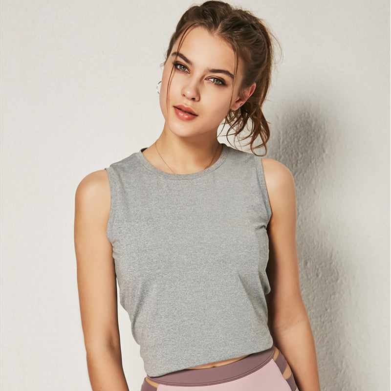 Women's Crop Top, Workout Wear