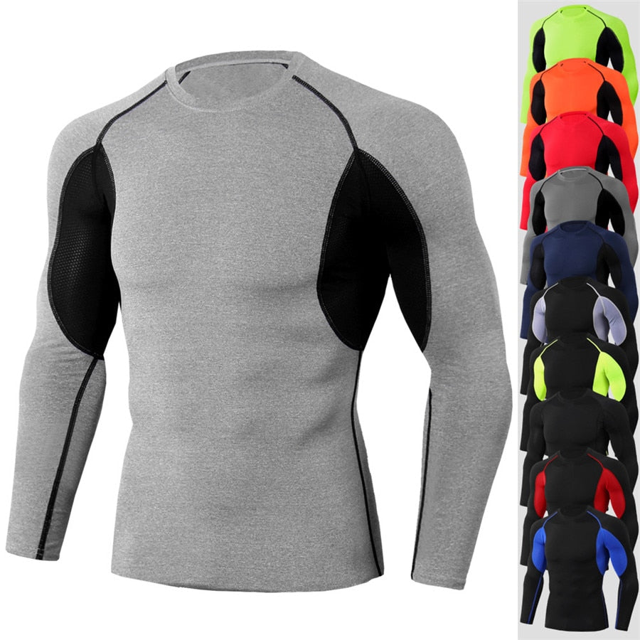 Men's Long Sleeve Compression Shirts