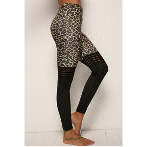 High Waist Leopard Printed Leggings