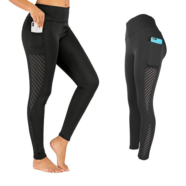 Yoga Pants High Waist with pocket