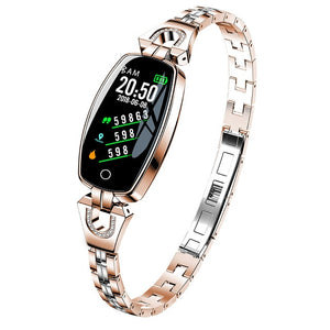 Fitness Smart Watch For Women, Waterproof Heart Rate Monitoring Bluetooth For Android IOS Wristband