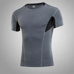 Men's Workout Athletic Compression Shirts Pack