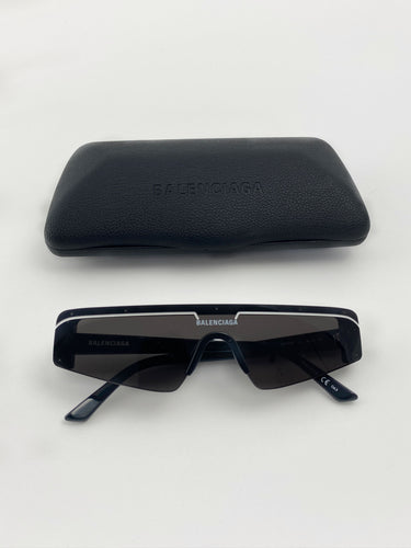 Balenciaga Sunglasses black white stripe BB003S